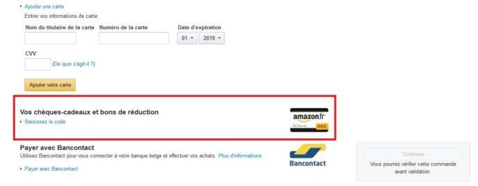 Bon de réduction Amazon.fr