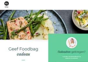 verzilver je cadeaubon bij Food bag