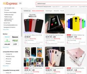 Bij ali expres ontdek je meer dan 3 miljoen telefoonhoesje
