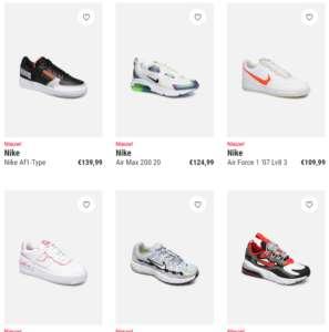 6 nike schoenen te koop bij zarenza