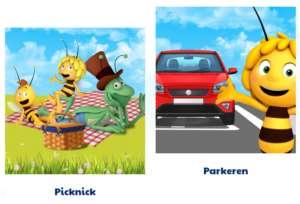 parkeren in plopsaland