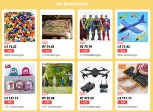 Dit zijn 8 speelgoed bestsellers bij aliexpres