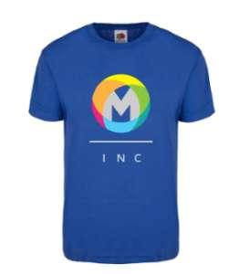 vitaprint: blauwe te personaliseren shirt van Fruit of the Loom