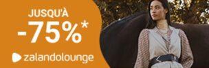 Jusqu'à - 75% de réduction chez Zalando Lounge