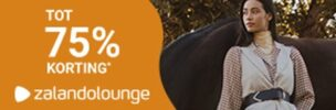 Pak nu tot 75% korting bij Zalando Lounge